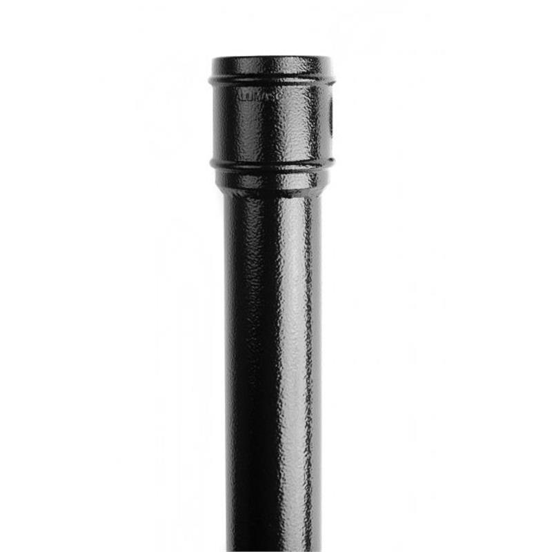 Round Aluminium Pipes W O Ears 100 2m Drainage Online