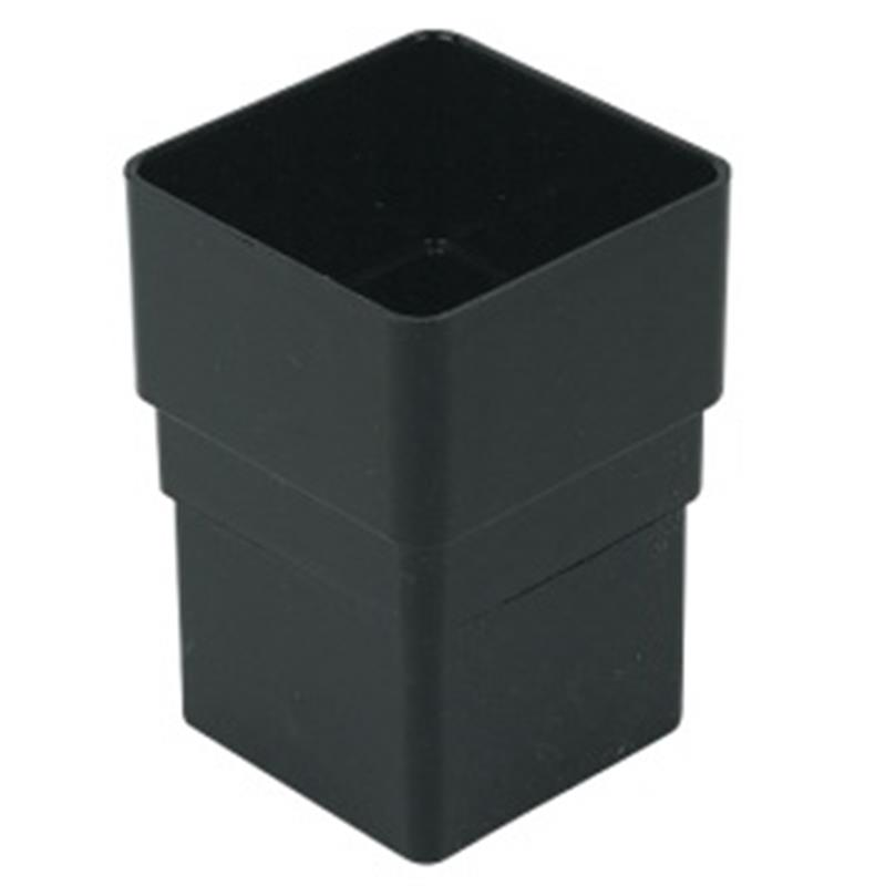 65mm Square Downpipe Connector Floplast Drainage Online