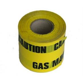 Yellow 'Gas' Marker Tape x 365m