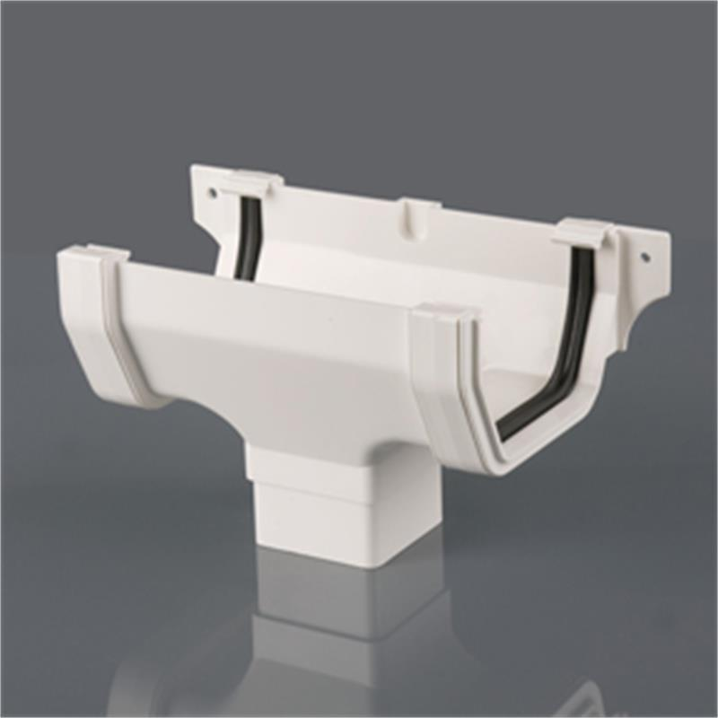 114mm Square Running Outlet Square Gutter Drainage Online