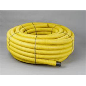 Yellow Perforated Gas Ducting