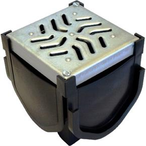 Quad Connector with Galvanised Grate