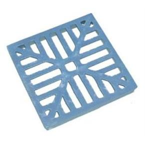 Square Alloy Dished Grate